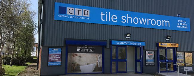 CTD Tiles Bolton outside showroom building