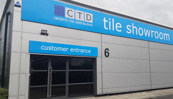 CTD Birkenhead Tile Showroom