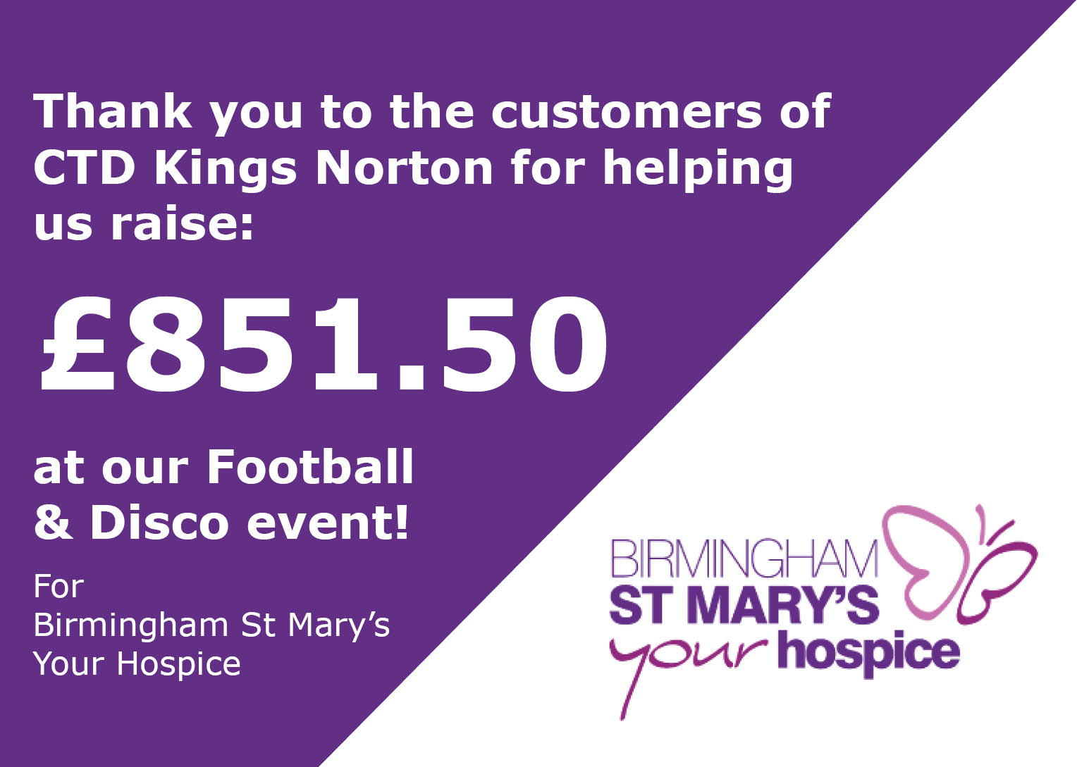 kings norton charity total