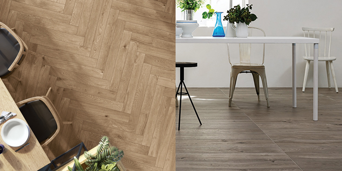 wood tile ranges
