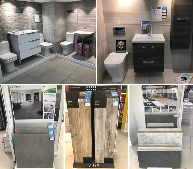 CTD Cardiff Tile Showroom Images