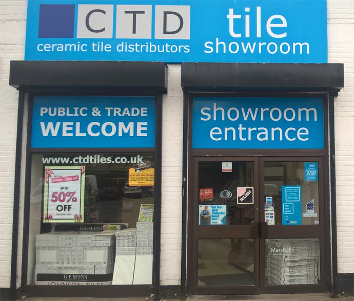 CTD Tile Showroom Coulsdon