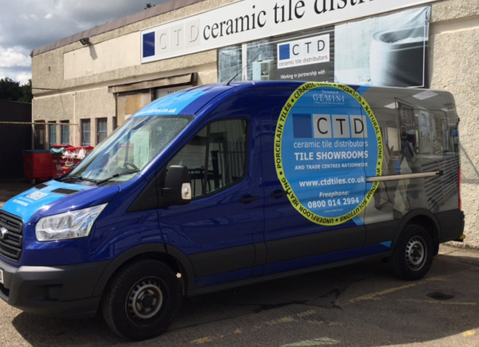 ctd hampton trade centre and van