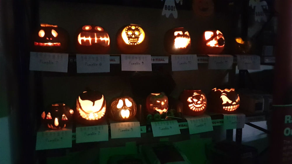 Pumpkin Carving at CTD Denton Trade Day