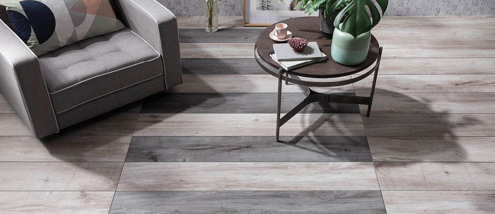 Aspenwood floor tiles by Gemini