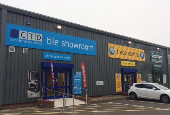 Gloucester Tile Showroom and Trade Centre outside view