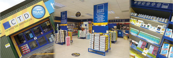 Tile Trade Counter Ashford