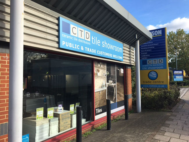 CTD Tile showroom - outside of Highgate store