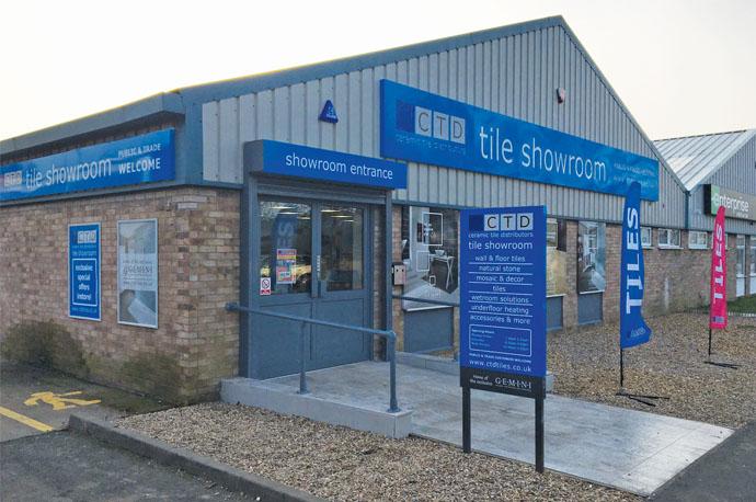 Leamington Spa tile showroom