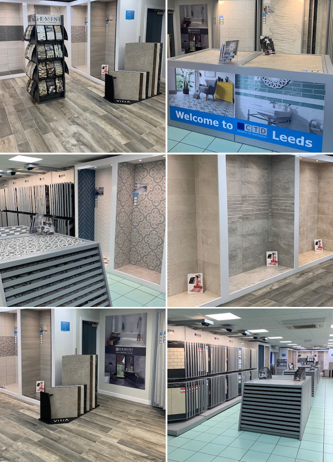 CTD Leeds Tiles Showroom Images