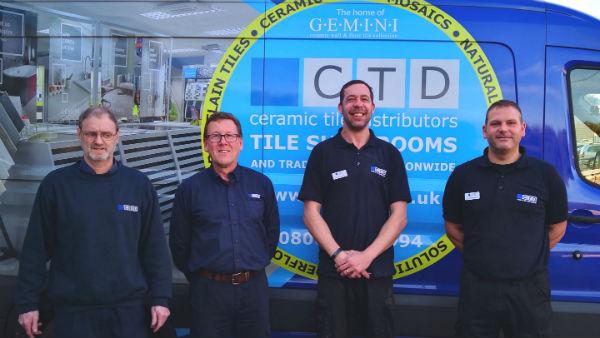 CTD Tiles Poole Team