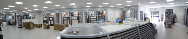 Full view of Tile Showroom at CTD Royston