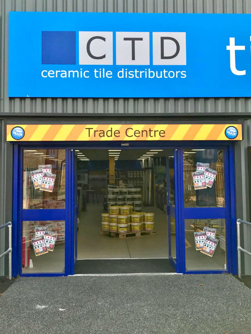 Trade Center Entrance at CTD Royston