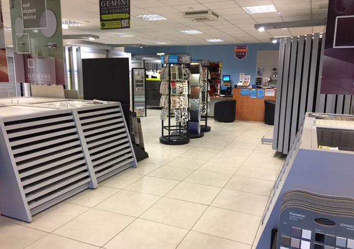 Stirling tile showroom