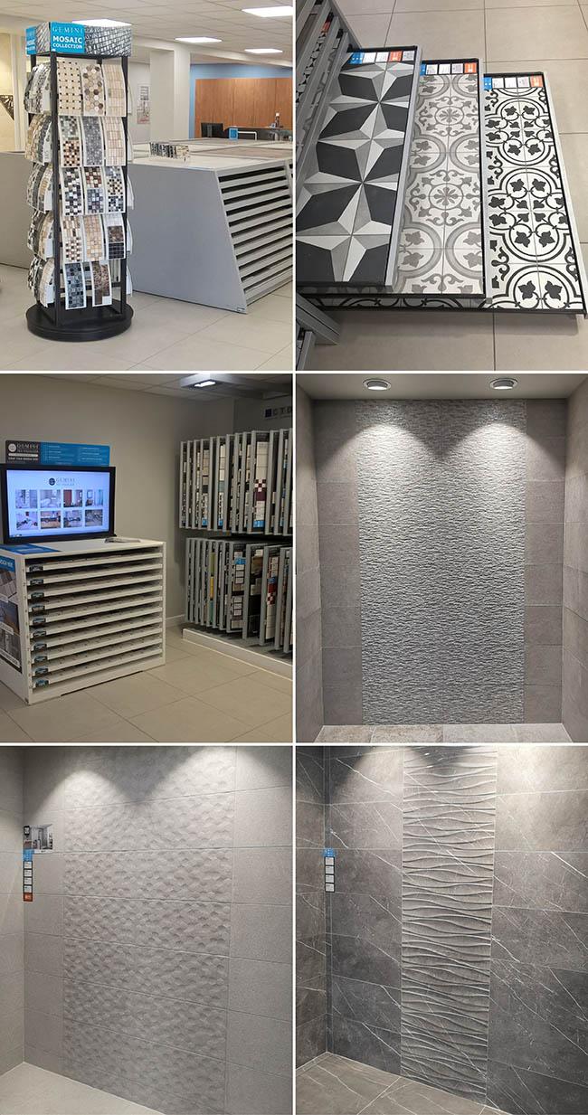 tile displays at ctd stockton