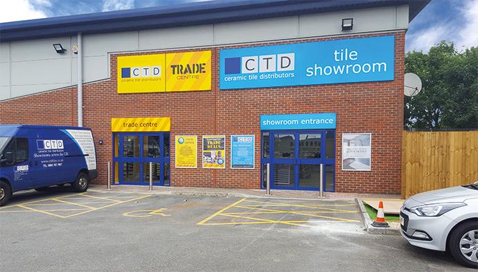 Swindon Tile Showroom Exterior