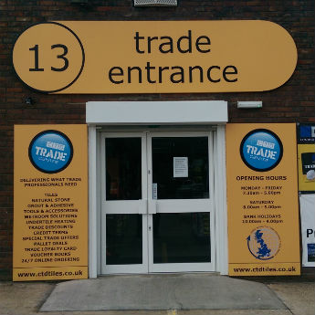 Trade Entrance at CTD Woking