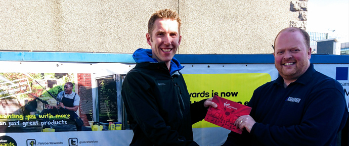 Weber Winner at CTD Aberdeen