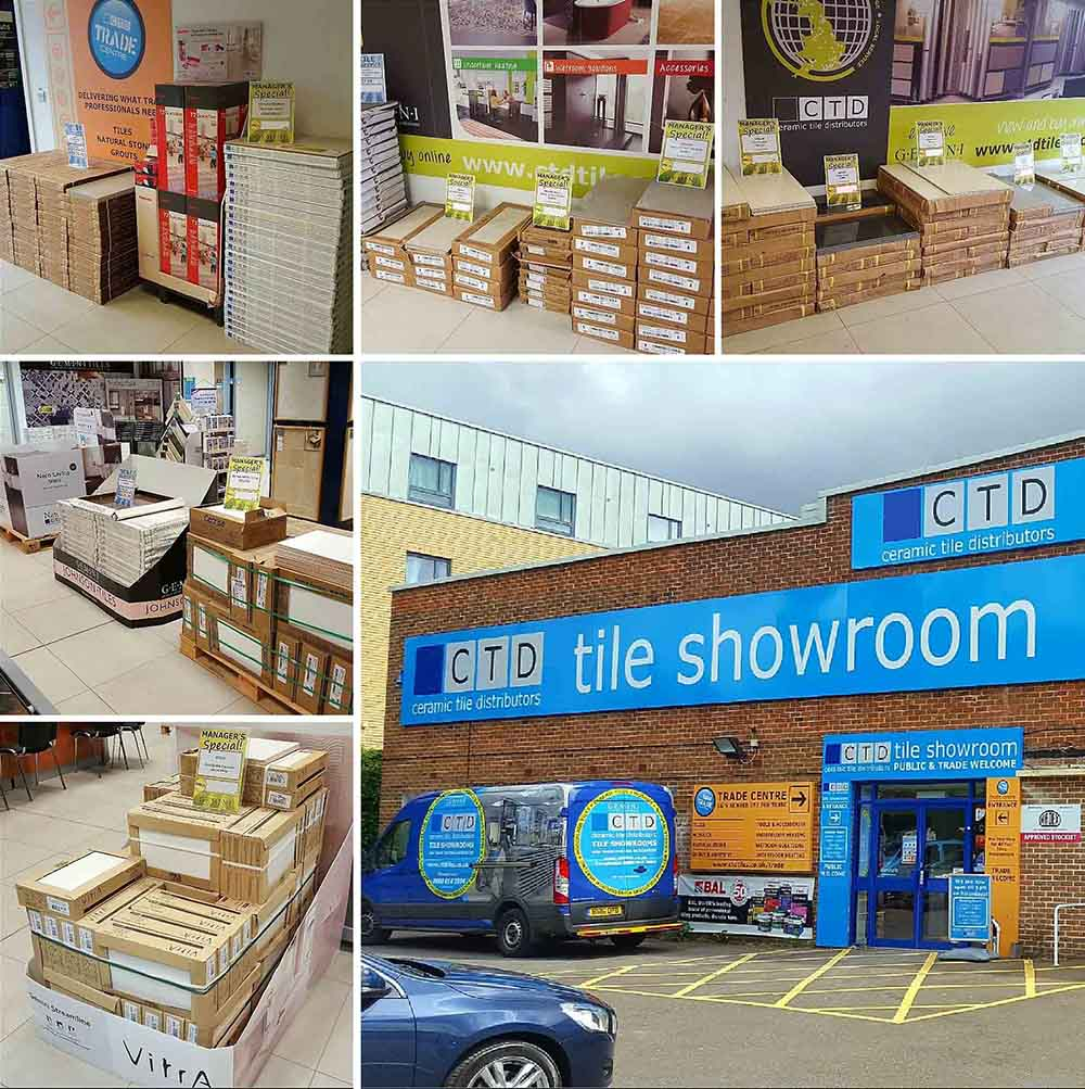 Winchester Tile Showroom and trade centre
