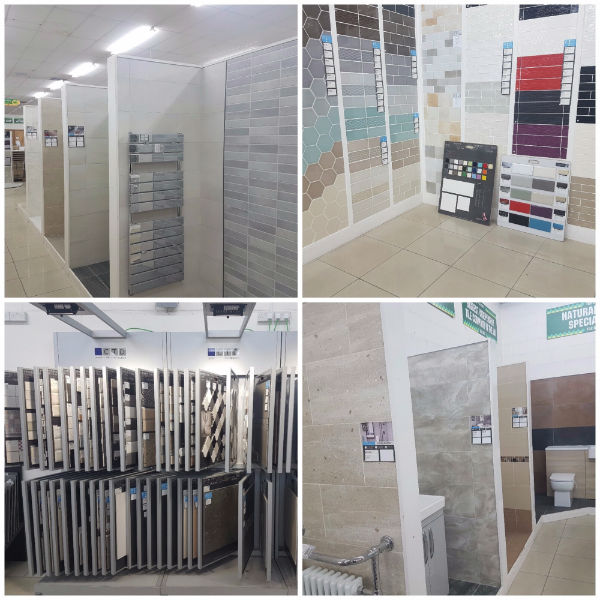 Tile Showroom Displays at Cricklewood