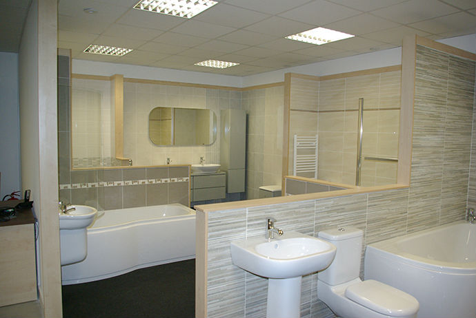 Good Poole Branch   Bathroom Tile Showroom Displays ...