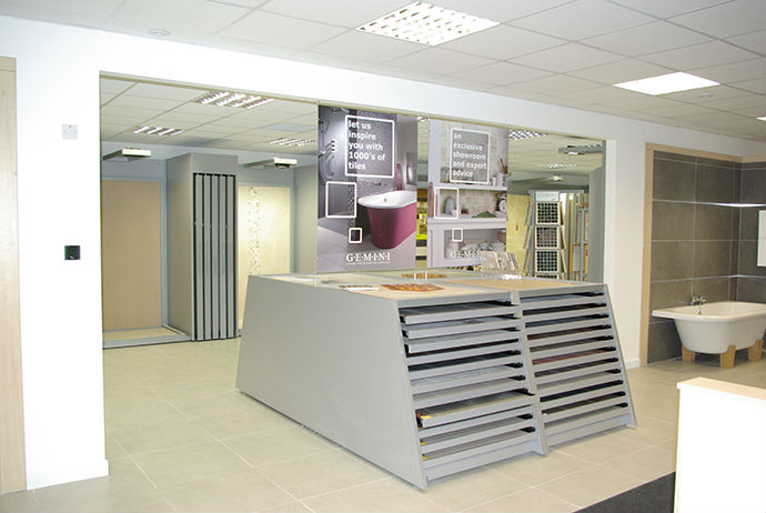 Tile showroom and trade centre now open in poole dorset - Interior design tiles showroom ...