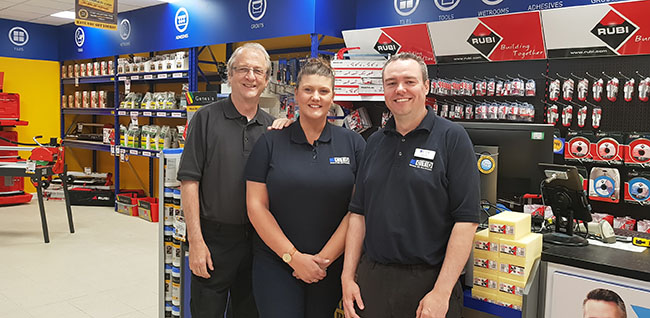 CTD Stratford upon Avon Tile Showroom team