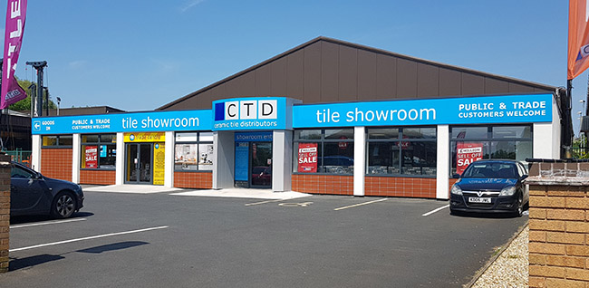 CTD Stratford upon Avon Showroom Entrance