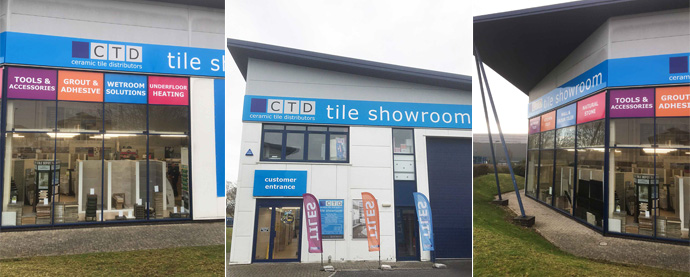 CTD Basingstoke tile showroom