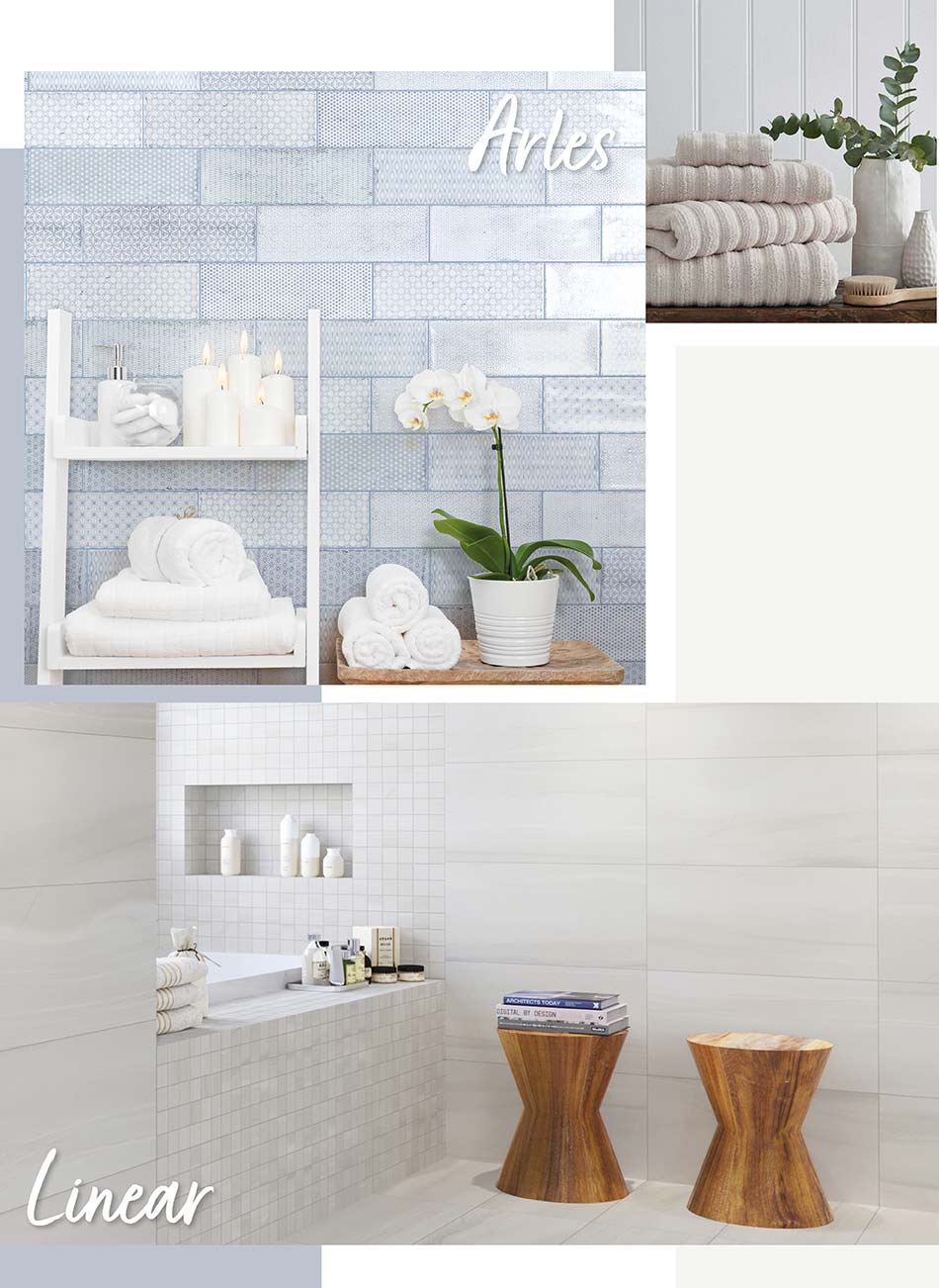 Arles and Linear Tile Collections