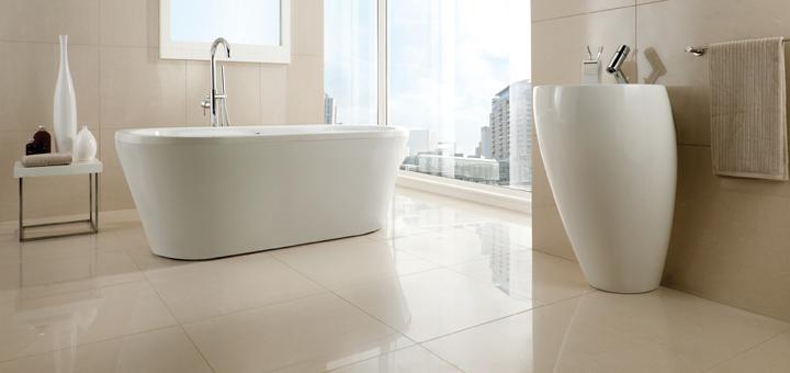 Luxury Tiles  Bathroom Tiles  Belice Limestone Effect  Belice Light Cream