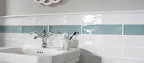 Poitiers Bathroom Wall Tiles by GEMINI from CTD Tiles
