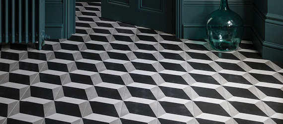 Cuban Black Floor Tiles by GEMINI from CTD Tiles