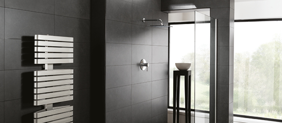 Earth Black Wall Tiles by GEMINI from CTD Tiles