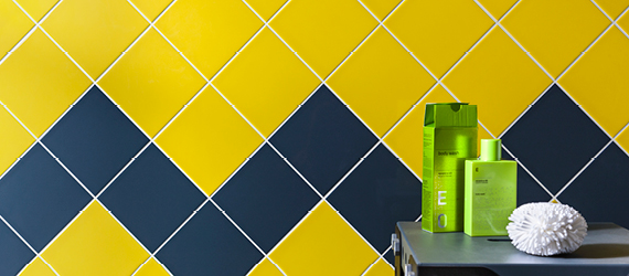 Reflections Coloured Tiles for Bathrooms by GEMINI from CTD Tiles