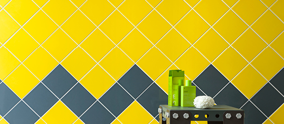 Reflections Colours and Bright Tiles for Walls by GEMINI from CTD Tiles