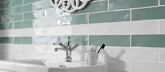 Poitiers Country Bathroom Tiles by GEMINI from CTD Tiles