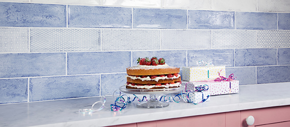Frame Decorative Wall Tiles by GEMINI from CTD Tiles