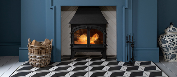 Tiffany / Aspenwood Fireplace Floor Tiles by GEMINI from CTD Tiles