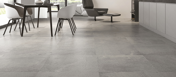 Rock Grey Floor Tiles by GEMINI from CTD Tiles