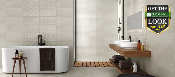 Barrington Get The GEMINI Look For Less - Wall Tiles by GEMINI from CTD Tiles
