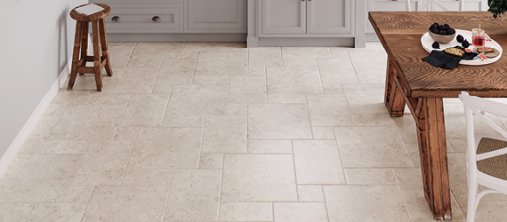 Jura Kitchen Floor Tiles by GEMINI from CTD Tiles