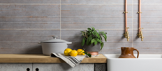 Bridge Kitchen Wall Tiles by GEMINI from CTD Tiles