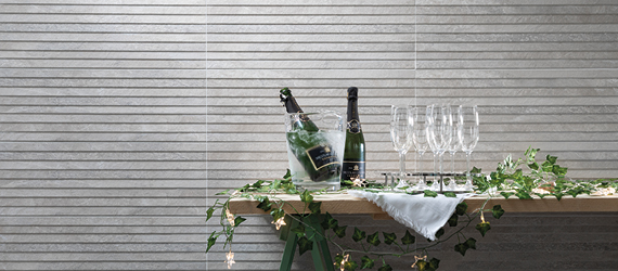 Nature Limestone Effect Kitchen Tiles by GEMINI from CTD Tiles