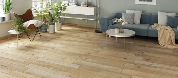 Wood Living Room Floor Tiles by GEMINI from CTD Tiles