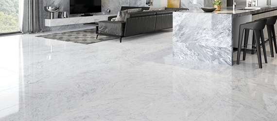 Marmori Marble Floor Tiles by GEMINI from CTD Tiles