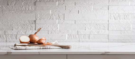 Tiffany Marble Effect Kitchen Tiles by GEMINI from CTD Tiles