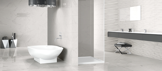 Classic Modern Bathroom Tiles by GEMINI from CTD Tiles