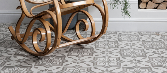 Cuban Patterned Floor Tiles by GEMINI from CTD Tiles