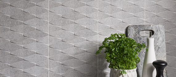 Rock Patterned Wall Tiles by GEMINI from CTD Tiles